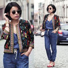 Get this look: http://lb.nu/look/7939718  More looks by Priscila  Diniz: http://lb.nu/prisciladiniz  Items in this look:  Jumpsuit, Flats   #casual #elegant #street