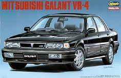 Hasegawa 1/24 Scale Mitsubishi Galant VR-4 #Hasegawa