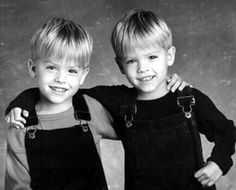 Young Dylan and Cole Sprouse. They where Soooooooooooo cute!!!!!!