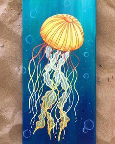 Ocean Drawing, Jellyfish Drawing, Jellyfish Painting, Jellyfish Tattoo, Underwater Painting, Watercolor Jellyfish, Jellyfish Quotes, Jellyfish Facts, Tattoo Watercolor