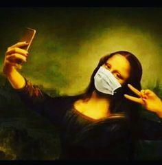 Aesthetic Drawing, Aesthetic Art, Mona Lisa Drawing, Funny Art, Funny Memes, Don Meme, Mona Lisa Parody, Mona Lisa Smile, Art Jokes