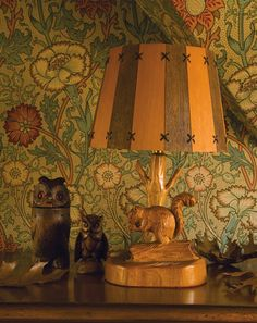"""Modernizing medieval naturalism in his Victorian botanical prints, William Morris' wallpapers and fabrics continue to bring Eden into the everyday [Fall Department: Feature story, """"Man in Full Bloom,"""" Photography: Courtesy of Barry Dixon] Art Nouveau, Design Studio Office, Morris Wallpapers, Rose Wallpaper, Beautiful Wallpaper, Woodland Decor, Design Your Dream House, 3d Home, Arts And Crafts Movement"""