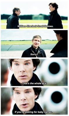 Love this person's thing >>> I love how Martin and Benedict portrayed the two-sided emotions in this scene. John and Sherlock are making jokes and talking casually but under it all there are emotions that cannot even be put into words. And somehow Martin and Benedict were able to act that out so beautifully.