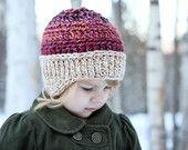 Crochet Pattern - Noah's Bulky Hat