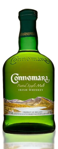 Connemara Irish Whiskey(I would like to have a bottle of this just for the name)