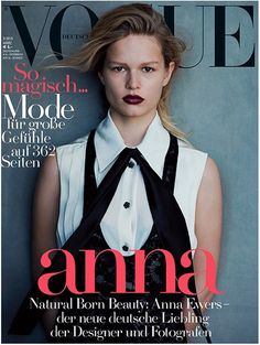 Vogue Germany March 2015 | Anna Ewers