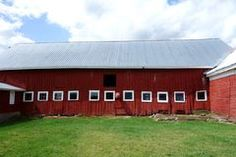 Small Windows on Red Barn Stock Image Photographer Portfolio, Small Windows, Farms, Shed, Outdoor Structures, Stock Photos, Image, Homesteads, Sheds