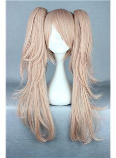 Japanese Dangan-Ronpa 2 Series Long Wave Taro Color Cosplay Wigs 26 Inches