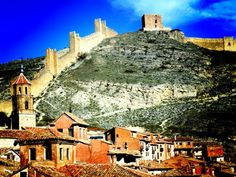 Albarracín, muralla y castillo