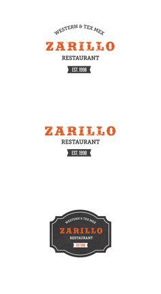 Logo update for a Western & Tex Mex Restaurant! www.zarillo.fi (2015) | www.sinijurva.com