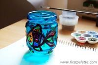 Step 9 Stained Glass Jars