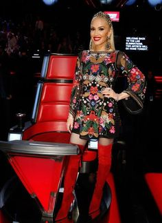 Get The Look Voice Results show   Gwen Stefani, May 2017