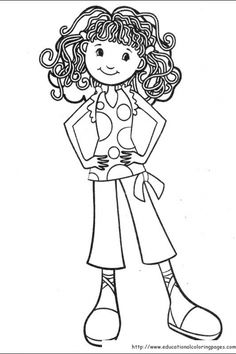 Groovy Girls Coloring Pages free For Kids | Educational Fun Kids Coloring Pages and Preschool Skills Worksheets