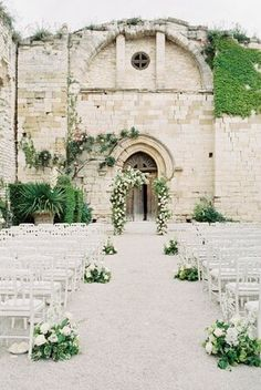 A Romantic Destination Wedding at a Chateau in Provence - Wedding Venues Luxury Wedding Venues, Destination Wedding Locations, Romantic Destinations, Chateau Wedding Venues, European Wedding, French Wedding, French Chateau Wedding Decor, Star Wedding, Destination Weddings