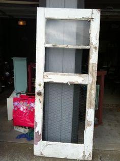 old wooden door and window               Just Cute!