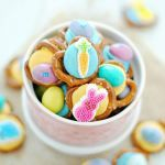 Easter Pretzel Bites