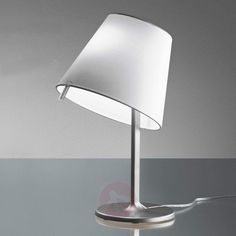 Buy Melampo notte bedside light, grey at Lights. Bedside Lighting, Bedside Lamp, Lighting Manufacturers, Shades Of White, Design Museum, Light Table, Satin, Bedroom Decor, Table Lamp