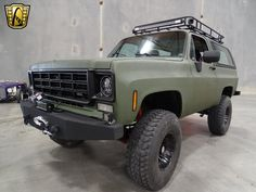 Green 1978 Chevrolet Blazer 454 CID 3 Speed Automatic For Sale Chevy 4x4, Chevy Pickup Trucks, Gm Trucks, Cool Trucks, Chevy Blazer K5, K5 Blazer, Chevy Truck Models, Ford Models, Overland Truck