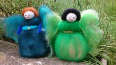 Earth and Water Faerie by RosePetalFaeries on Etsy