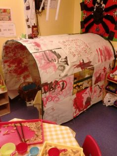 3 Little Pigs, Brick House, Role Play Area