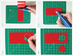 How to cut duct tape