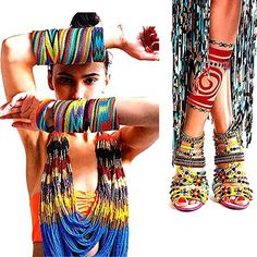 Tribal Fashion   http://theawesomesisters.com/2012/10/29/how-to-wear-indian-inspired-tribal-fashion/