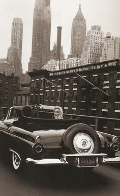 ...can you imagine driving around Manhattan and having MM turn around and smile at you?