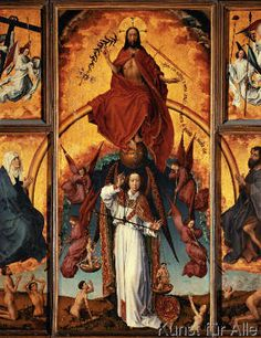 Rogier van der Weyden - Last Judgement / Weyden / C15th