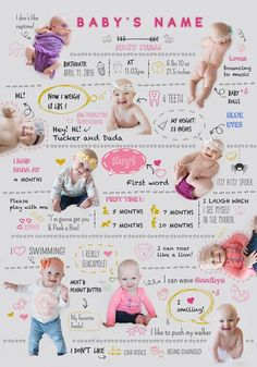 Before you even notice your baby will stop being this little cutie. Remember what he/she loves with this cute baby infographic! Children Photography, Newborn Photography, Baby Monat Für Monat, Baby Infographic, One Month Baby, Newborn Schedule, Monthly Baby Photos, Foto Baby, Baby First Birthday