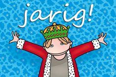 """Gratis e-card: """"Jarig!"""""""