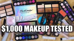 Popular on YouTube  United Kingdom August 31 2017 at 12:00AM $1000 MAKEUP TESTED  WTF via Popul