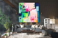 Large Abstract wall art,Original Abstract wall art,large abstract art,unique painting art,home decor wall art FY0076