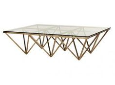 Elle Rectangular Eiffel Coffee Table | Globe West