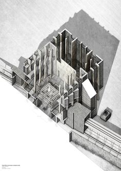 Matthew Orme, University of Kent, MArch  The thesis explores the creation of spatial time relativity through material connections and architectural tectonics to manipulate the weathering of materiality and explore the notion of failed ideas. The...