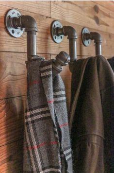 Pipe coat hooks