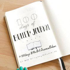 #100DaysOfBulletJournalIdeas