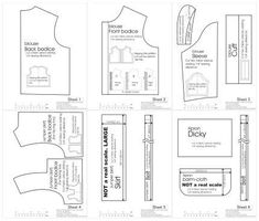 Free Printable 18 Inch Doll Clothes Patterns | Free pattern that fits 18-inch vinyl dolls by nancy1234