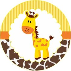 Sweet Jungle: Free Printable Wrappers and Toppers for Cupcakes. Cupcakes Safari, Giraffe Cupcakes, Giraffe Party, Giraffe Birthday, Jungle Theme Birthday, Safari Theme Party, Safari Birthday Party, Jungle Party, Animal Birthday
