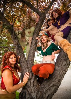 Elfquest: Tree Dwellers by ~LilBluPenguinCosplay on deviantART  A group I helped organize.