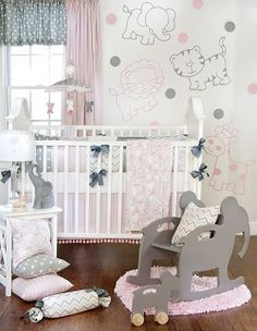 Glenna Jean Bella & Friends Crib Bedding Set