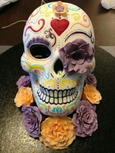 12 Amazing Skull Cakes. Which one is your favorite?
