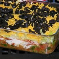Keto Friendly Layer Dip  (great for dipping with pork rinds or celery)