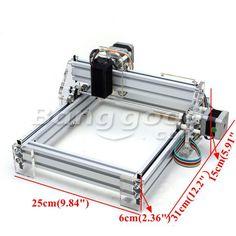 1500mW Desktop DIY laserový rytec rytie stroj Picture CNC Printer Sale-Banggood.com