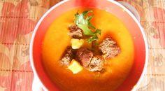 Тыквенно-морковный суп с апельсинами и имбирем. Шаг 3