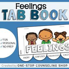 Feelings Tab Book