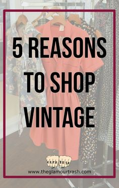 Buying vintage items may be second-nature to a lot of people, such as myself, but a lot of people don't for various reasons. I grew up with hand-me-down clothes and frequent visits to the thr…