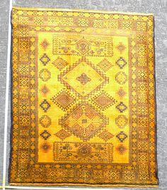 Hochwertiger Orientteppich Teppich von KISKAN Process home of Carpets carpet rug gelb yellow gefärbt Zimmer Wohnzimmer vintage modern shabby chick Wien Shabby Chick, Vintage Modern, Bohemian Rug, Rugs, Decor, Yellow, Living Room, Colors, Farmhouse Rugs