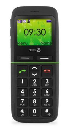 Doro 345GSM BK Easy to Use Sim Free Mobile Phone – Black