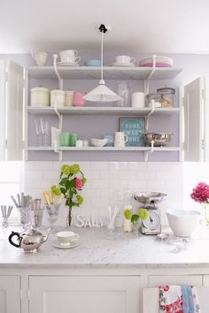 Display Kitchenware Like Candy - Home Storage Ideas - Bathroom, Bedroom & Kitchen (houseandgarden.co.uk)