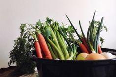 The Avant-Garden | Organic Chicken Noodle Soup | Black Rice Noodles